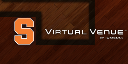 syracuse basketball virtual venue by iomedia